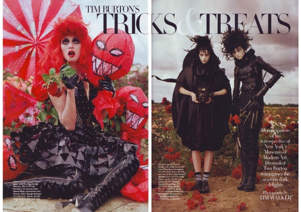 Tricks and Treats shot by Tim Walker
